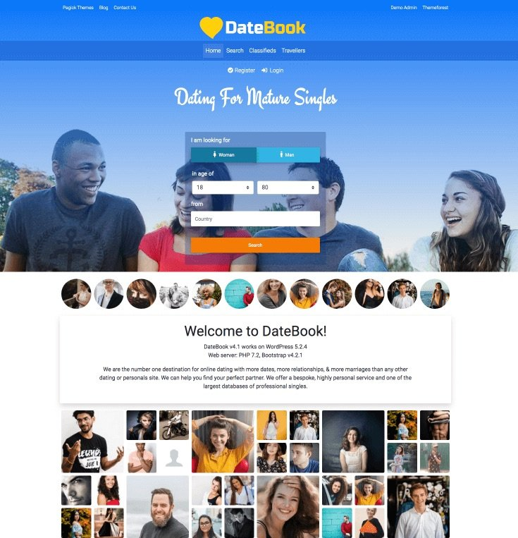 Bootstrap dating