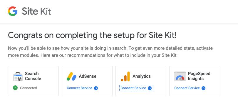 ربط جوجل الموقع كيت