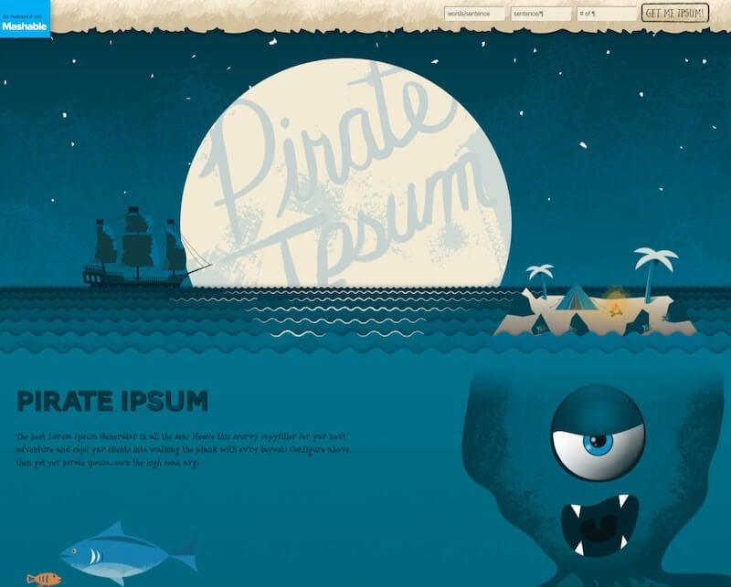 Pirate Ipsum