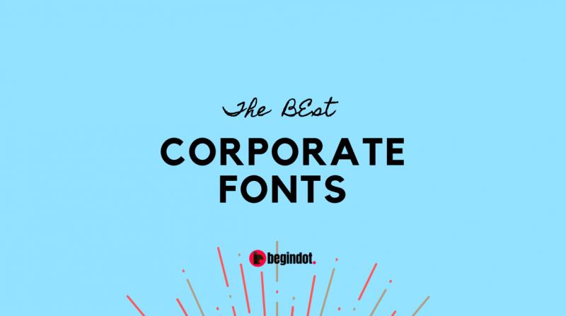 Best Corporate Fonts