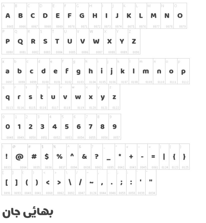 Baloo Bhaijaan Font