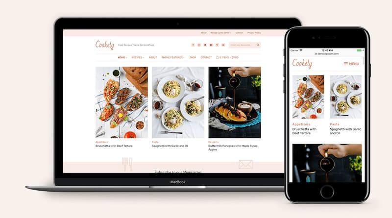 Cookely Theme
