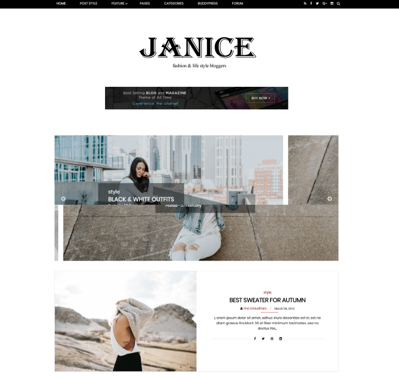 Janice Fashion