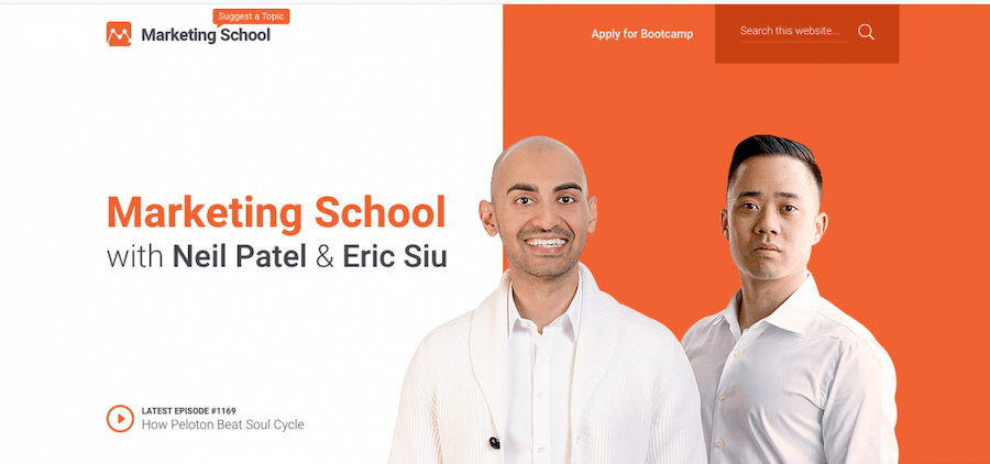 Marketing School Podcast With Neil Patel