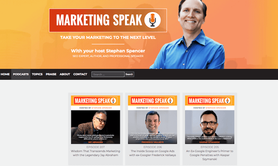 Marketing Speak Podcast