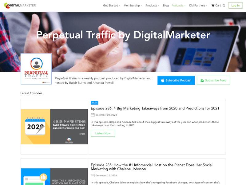 Perpetual Traffic by DigitalMarketer