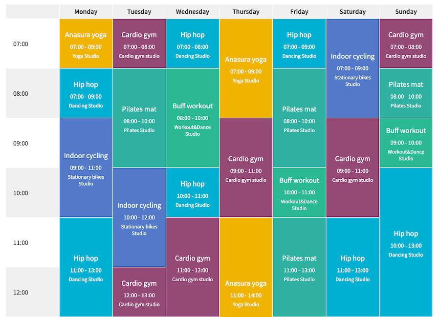 Timetable & Event Schedule Plugin