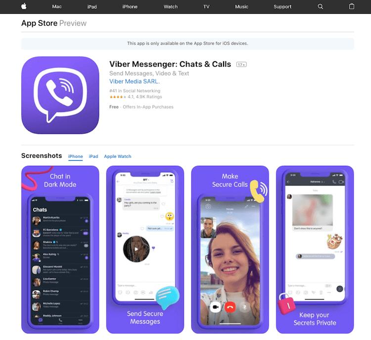 Viber-Messenger