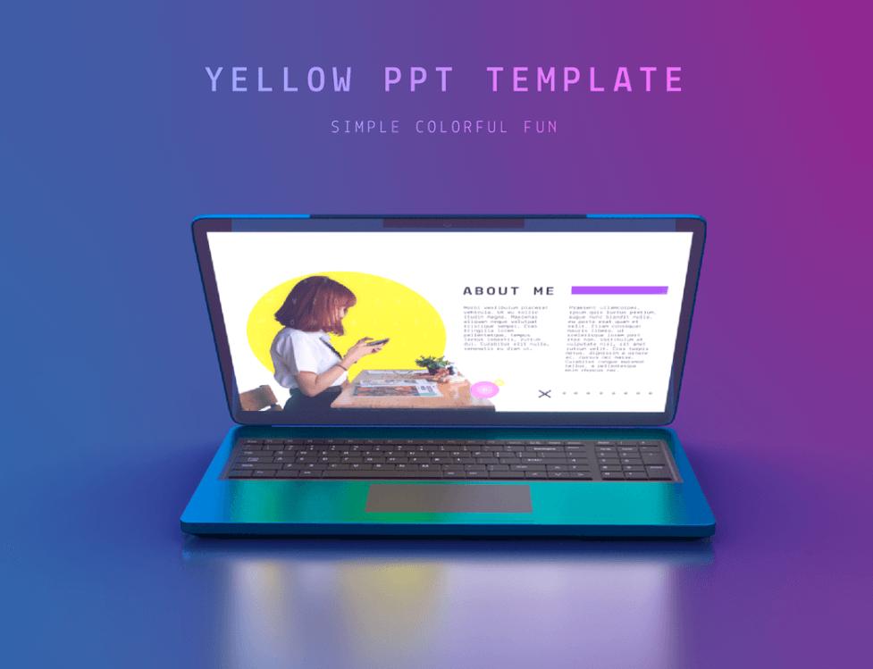 Yellow Keynote Template