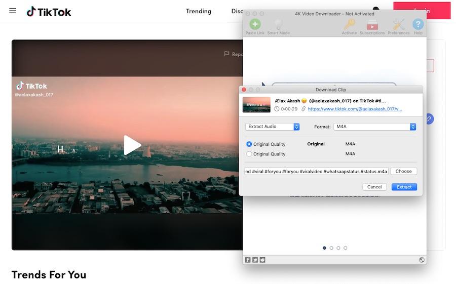 4K Video Downloader for TikTok