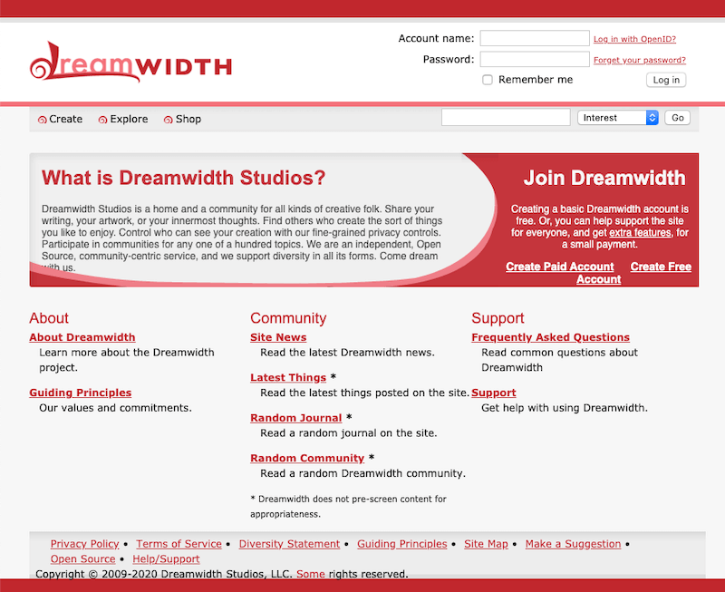 Dreamwidth Studios