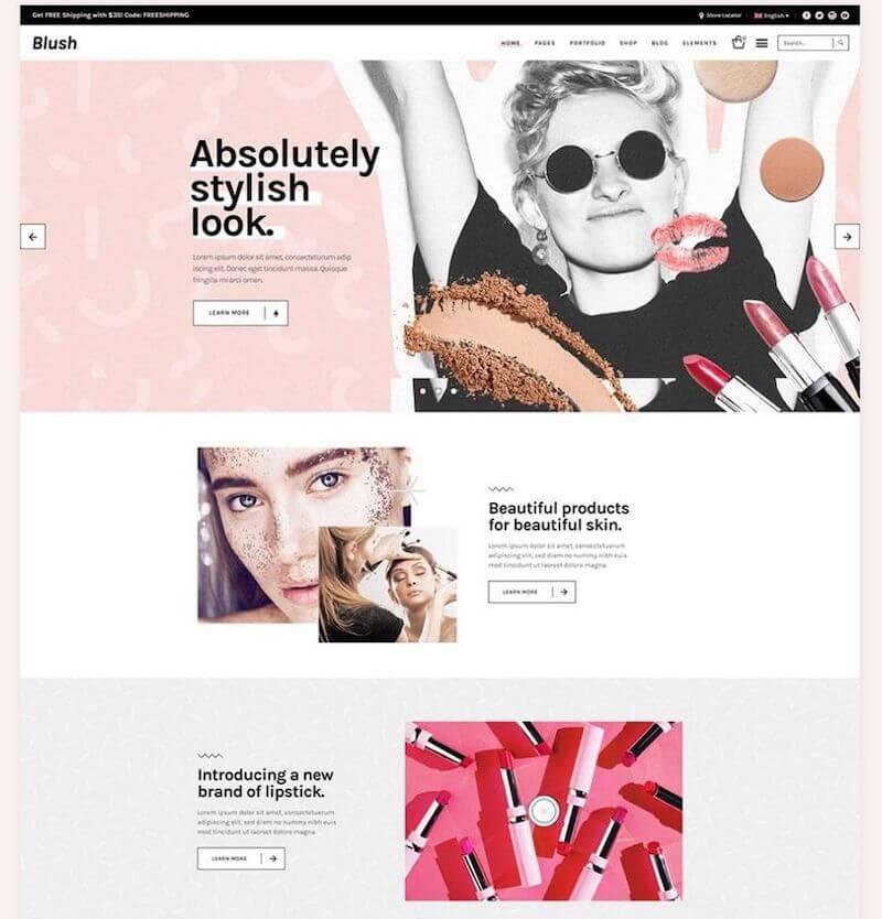 Blush theme