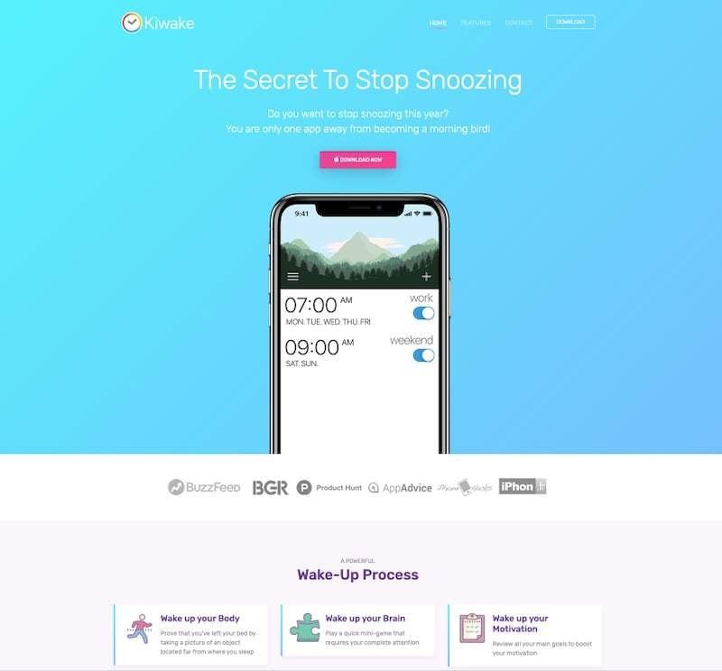 Kiwake App