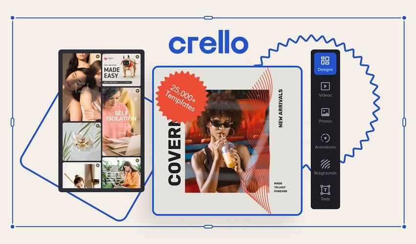 Lifetime access to Crello Pro Plan