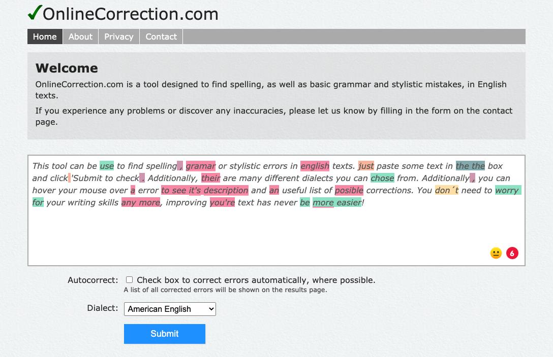 OnlineCorrection