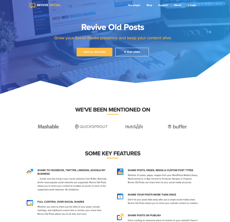 Revive Old Posts Review
