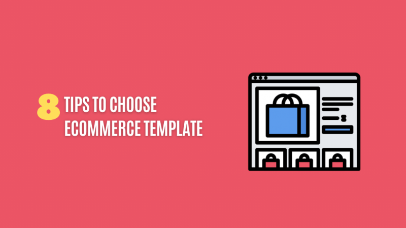 Tips to Choose eCommerce Template