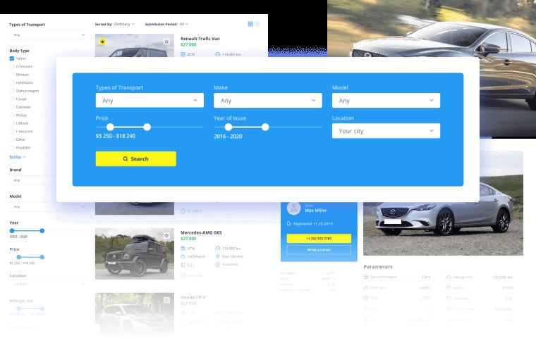 Car Dealer site with JetSmartFilters