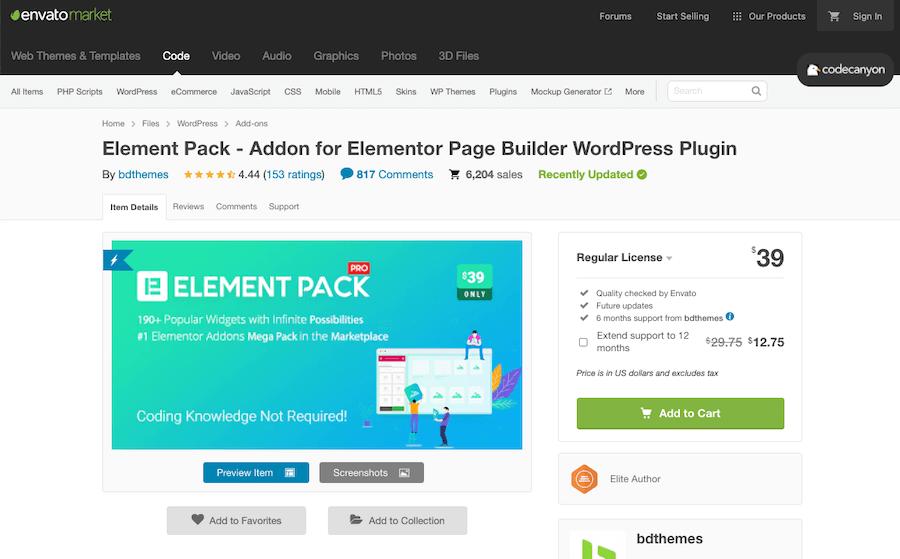 Element Pack