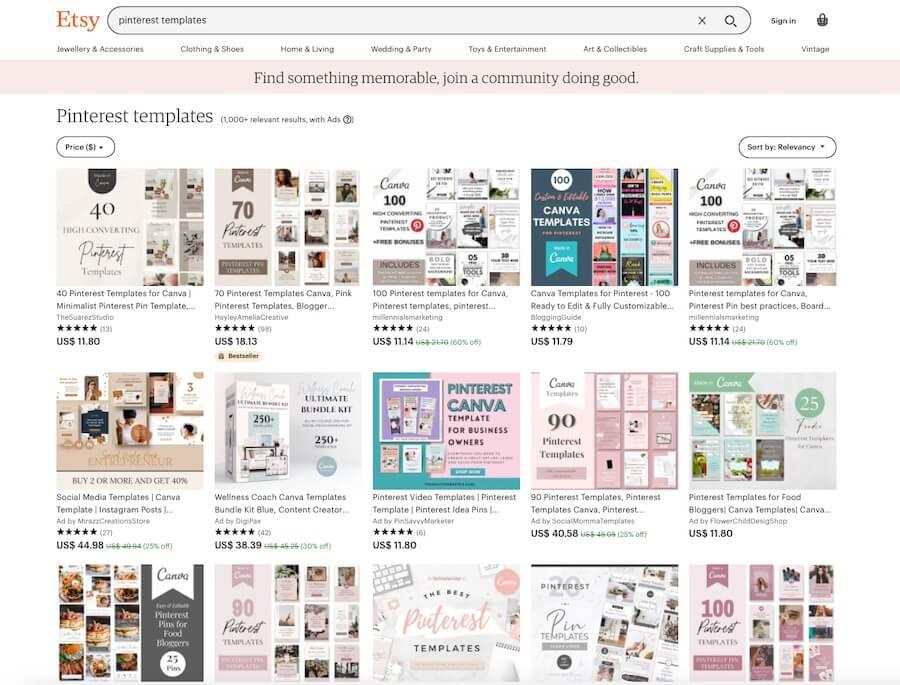 Pinterest Design Templates
