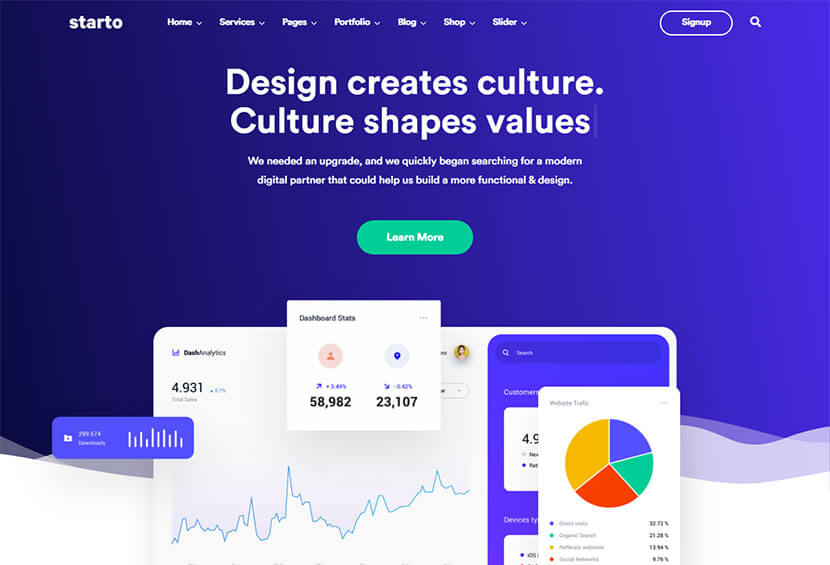 Starto-Saas-Software-Startup-WordPress
