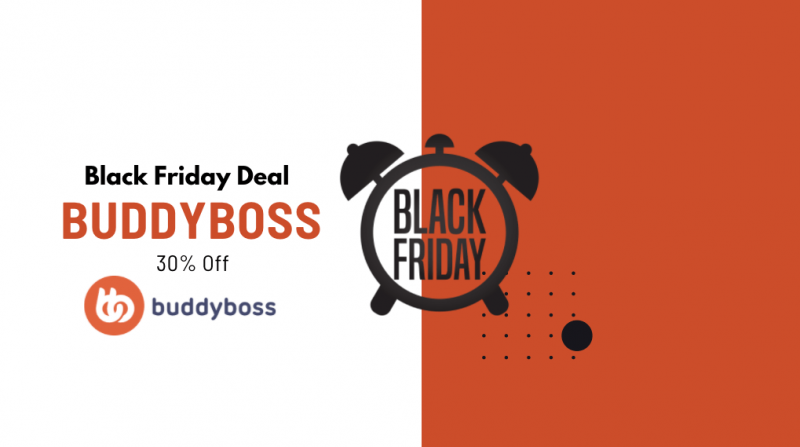 BuddyBoss Black Friday Deal