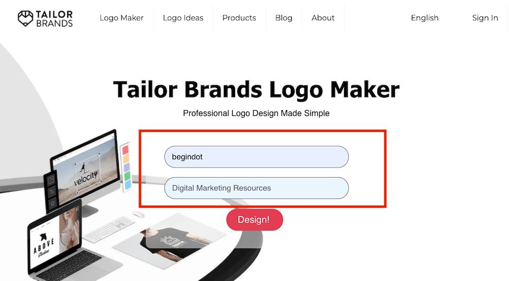 Start Logo Design