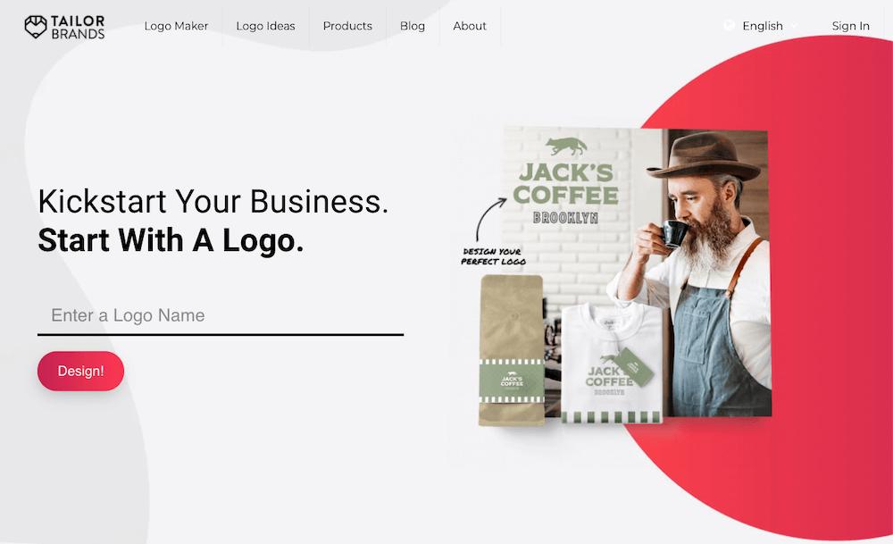 Tailor Brands Logo Design Review