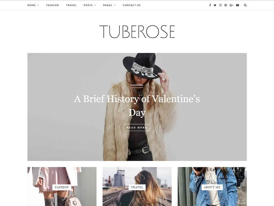 Tuberose Theme
