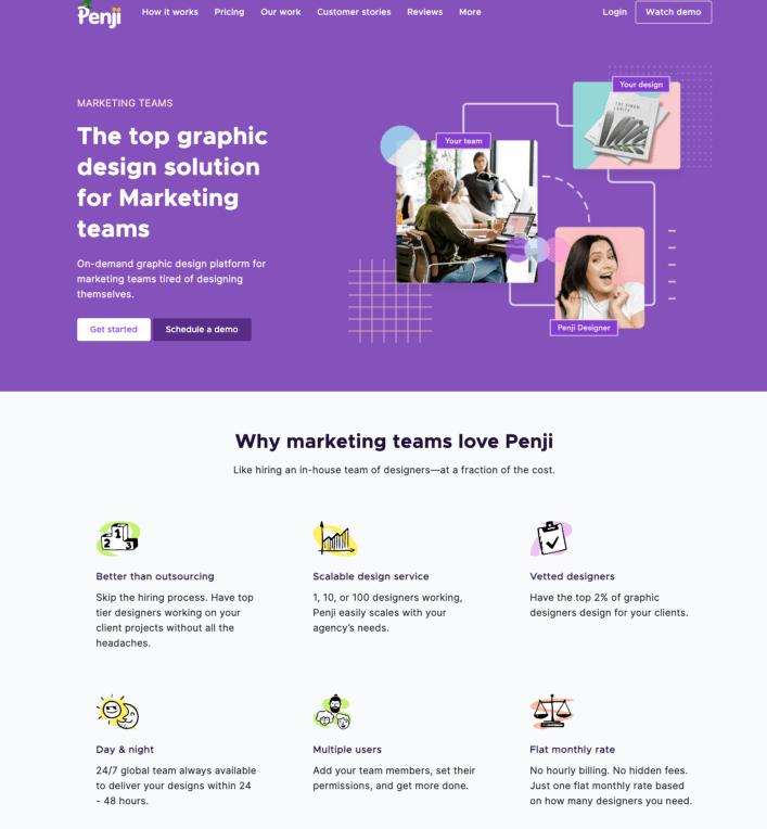 Penji for Marketing Team