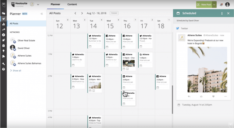 Social Scheduling Tool