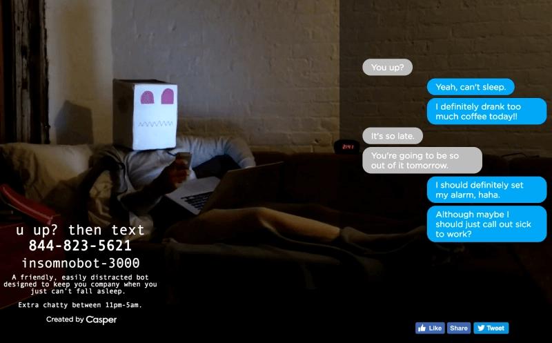 Mraketing chatbot