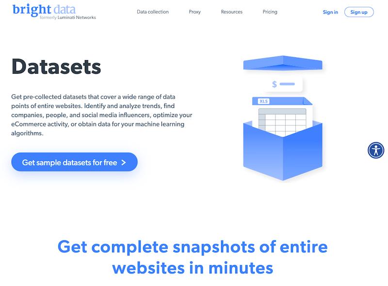 Ready Data Sets
