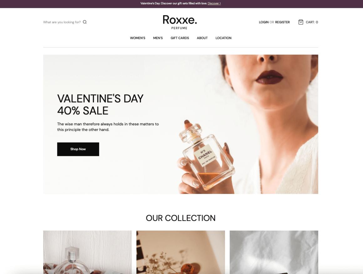 Roxxe Theme Demo