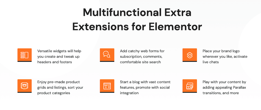 Roxxe Theme Elementor Widgets