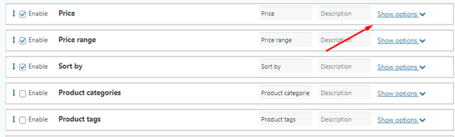 WooCommerce Product Filter Types Review