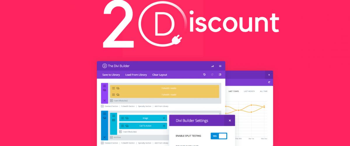 Divi Theme Discount Coupon