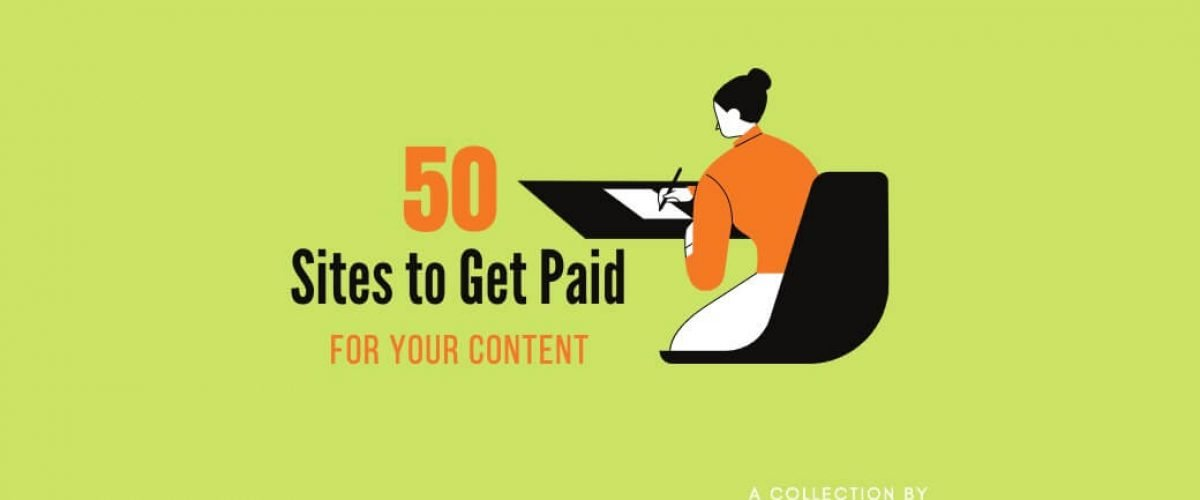 Get Paid for Content
