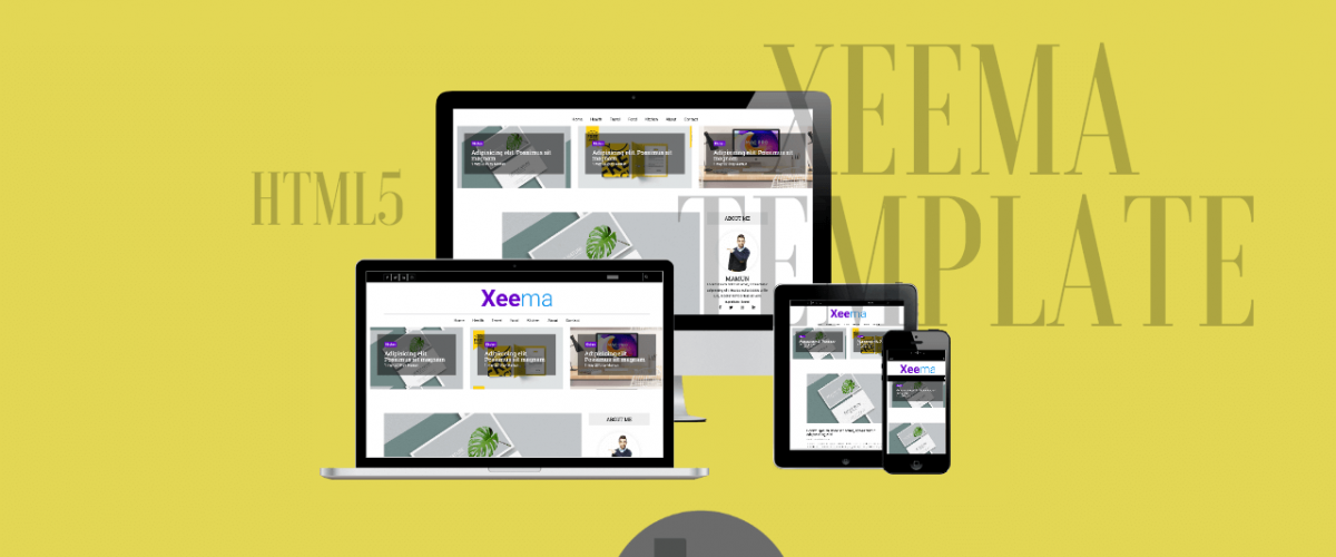 Xeema HTML5 Template
