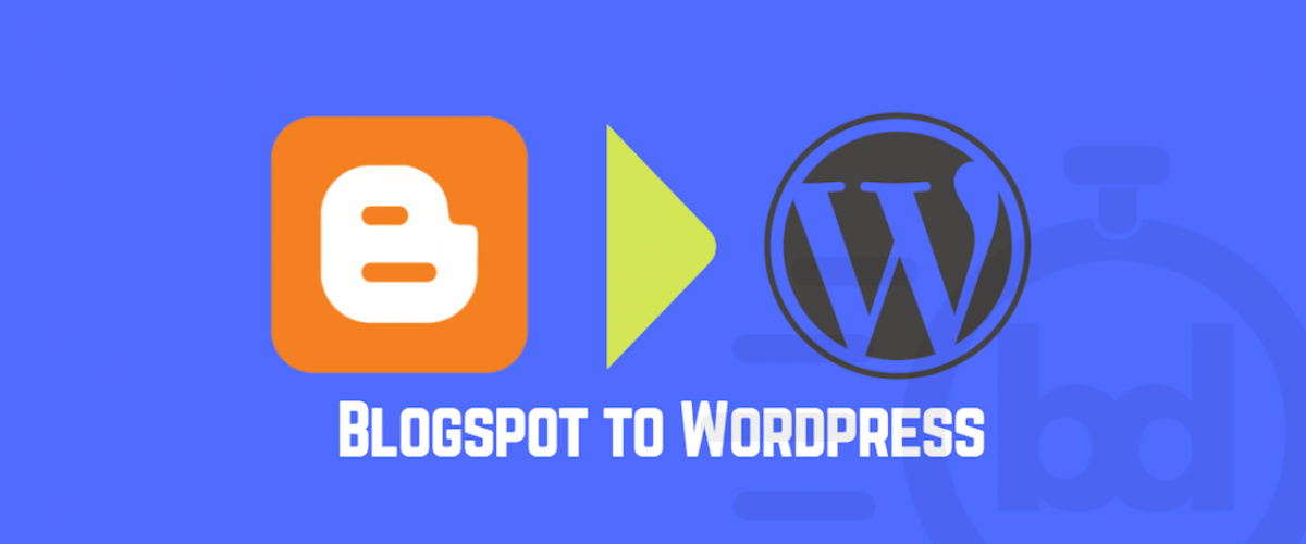 Blogspot to Wordpress